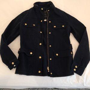 Jcrew military style jacket! (Navy blue)
